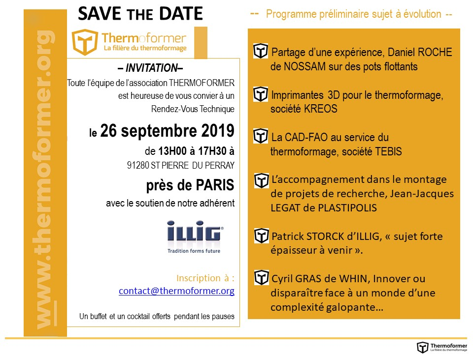 20190926 SAVE THE DATE RDV Tech PAR